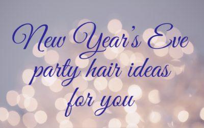 New years eve hair ideas