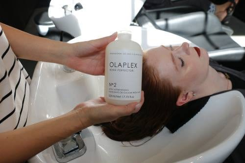 Olaplex is in the salon ask your stylist
