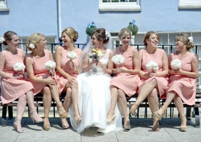 Wedding Hair for Bride and Bridesmaids