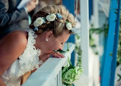 becca Wedding Hair in Cornwall