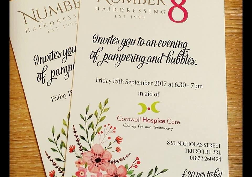 Charity night at Number 8