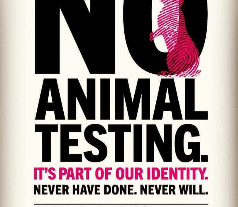 never have never will test on animals