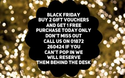 Get ready for our Black friday sale!